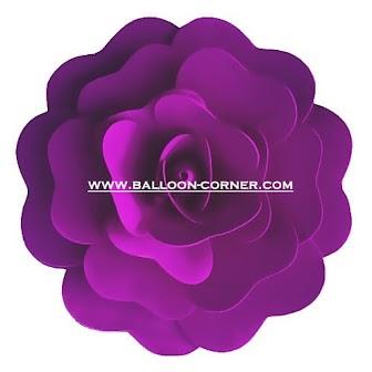 Foam Flower / Bunga Spons Ukuran 20 & 30 Cm