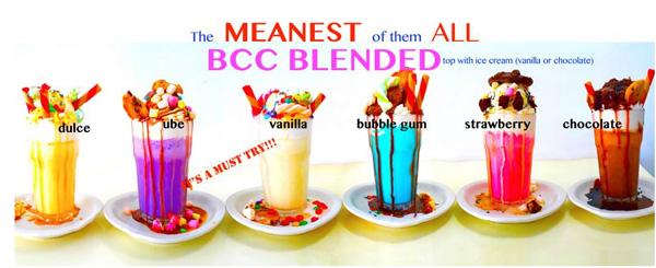 BCC Blended Drinks