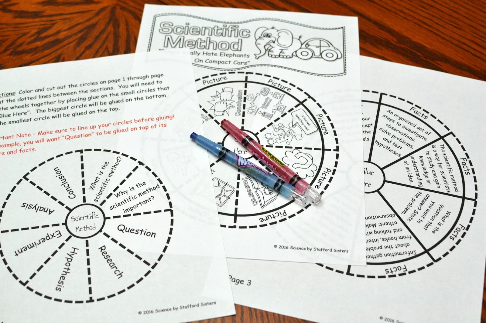 The Scientific Method Foldable
