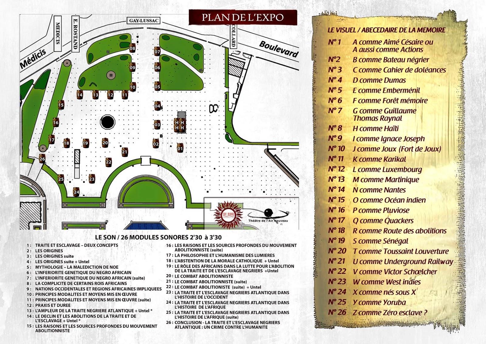 L 39 histoire des antilles et de l 39 afrique exposition les - Exposition jardin du luxembourg ...