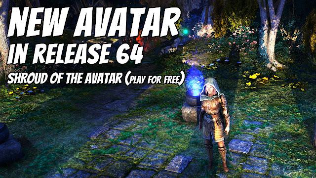 A NEW AVATAR In R64! Shroud Of The Avatar!