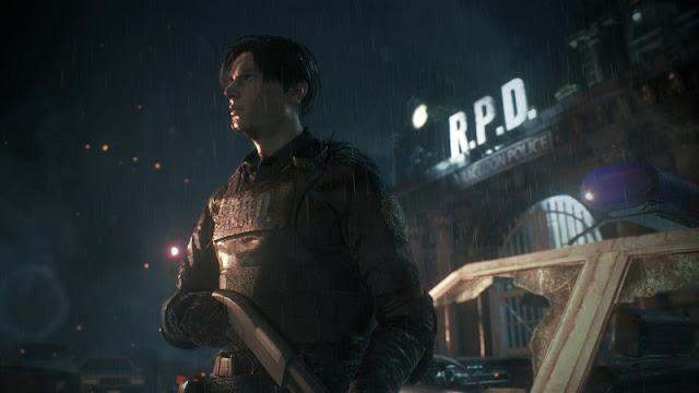La Comisaría en Re2 Remake