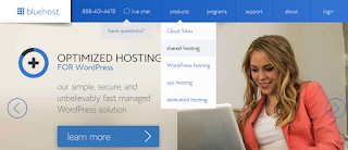 Create Wordpress Website with Bluehost - Bluehost Product