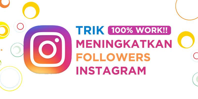 cara menaikkan followers instagram