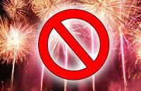 Risultati immagini per no ai fuochi d'artificio