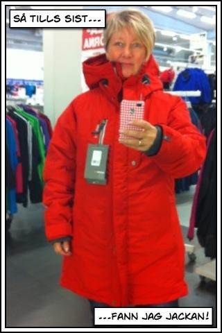 f3698a4d94b Och så fann jag äntligen min vinterjacka på vår shoppingrunda idag. Jag och  min man stack iväg till XXL efter träningen. På XXL fann jag ingen jacka  jag ...