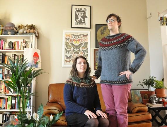 9486e4b43be1c2 Anneke Caramin  Horace ... Mind if I take this  I do love knitting ...