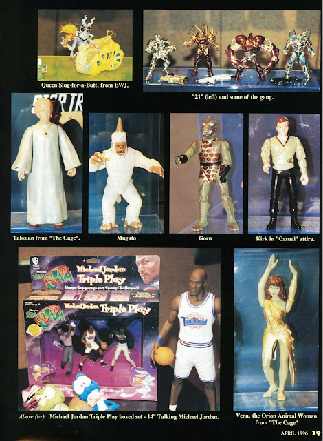 Star Trek Playmates Toys Unreleased
