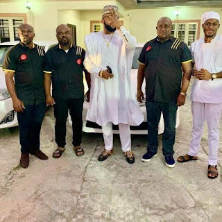 Brand New Toyota Cars Given out by E-Money As He Celebrates His Birthday