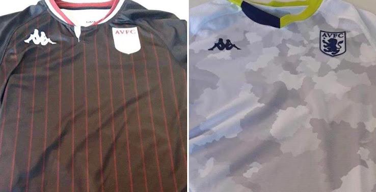 Aston Villa 20 21 Away Kit Released Third Kit Leaked Footy Headlines
