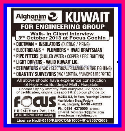 Alghanim Industries Kuwait - Gulf Jobs for Malayalees