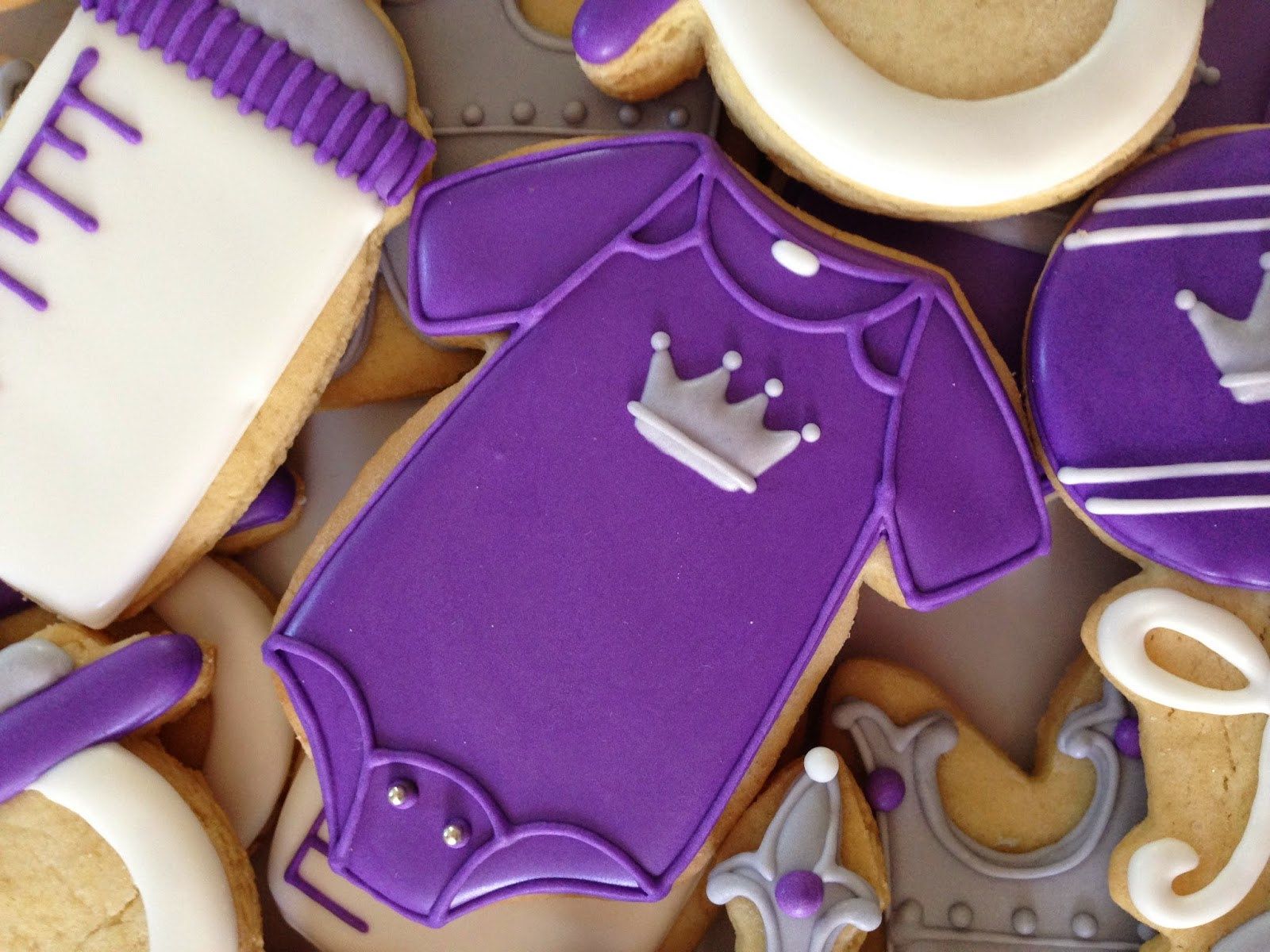 Royal Decoration Avis Oh Sugar Events Royal Purple Baby Shower