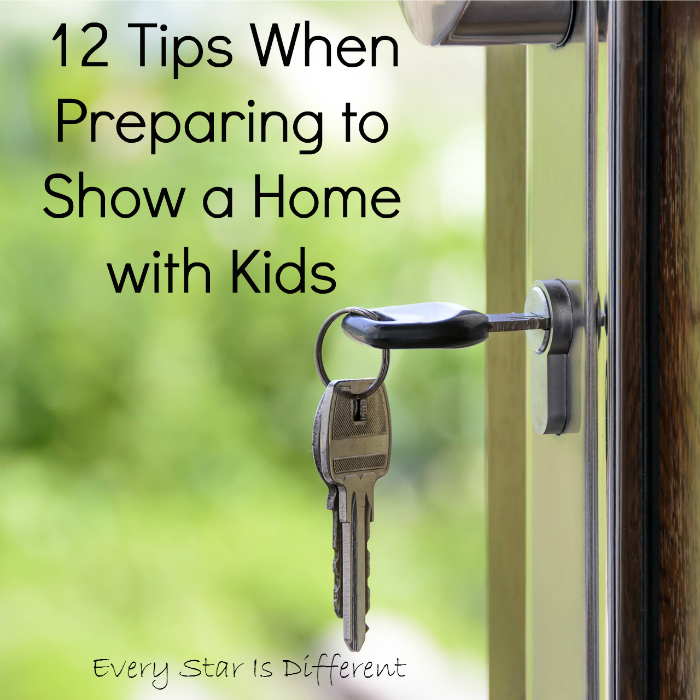 12 tips When Showing a Home with Kids