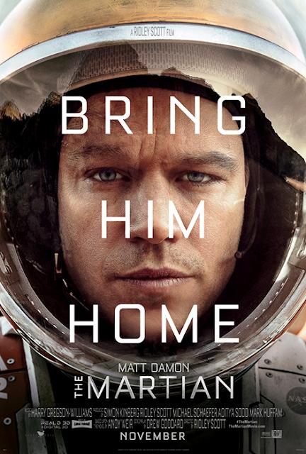 Primul poster oficial The Martian
