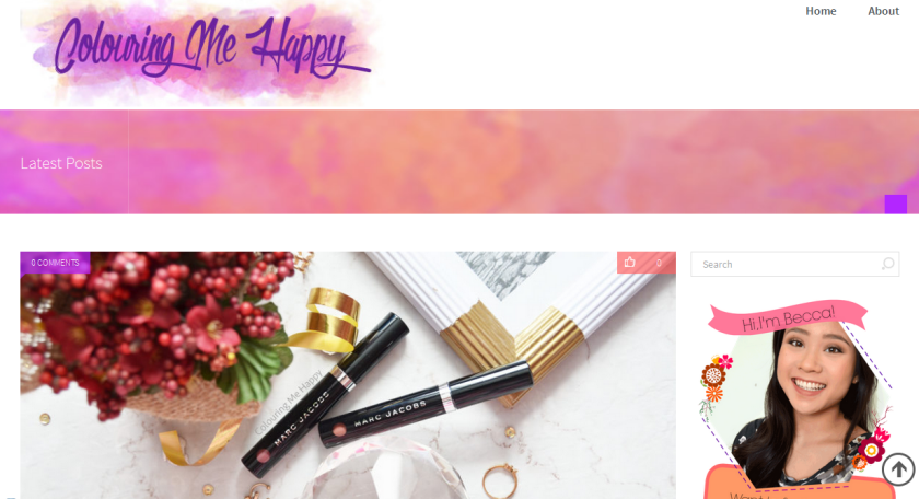 bbloggers, bbloggersca, canadian beauty bloggers, colouring me happy, blog of the month, featured, beauty blogger