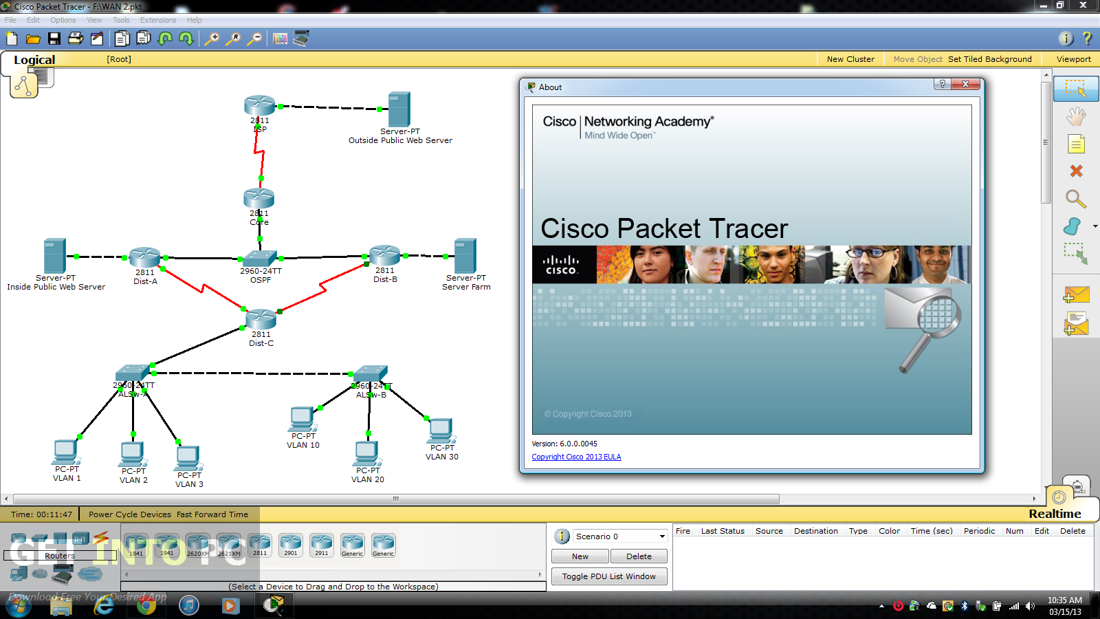 Cisco Packet Tracer 7 : Direct Download