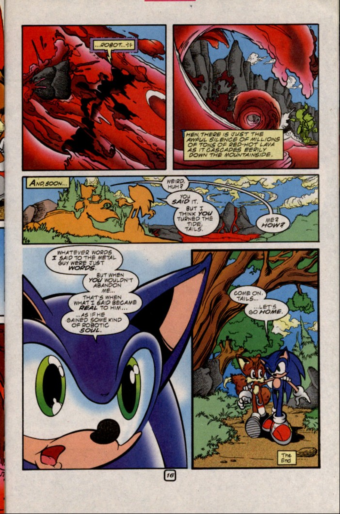 Read online Sonic The Hedgehog comic -  Issue #87 - 16