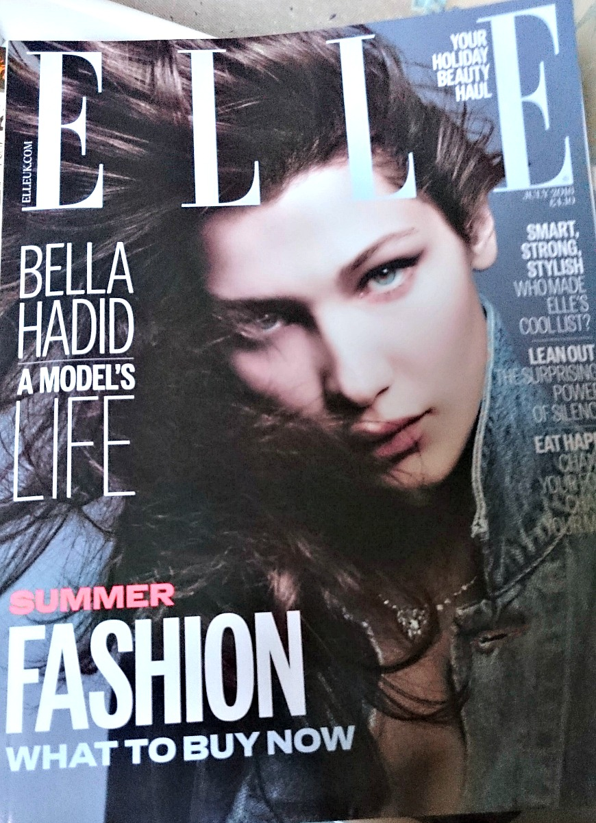 Elle Magazine July 2016