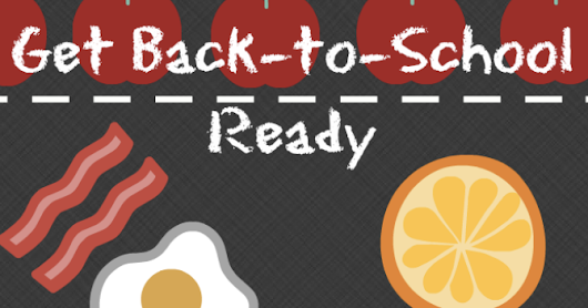 Get Back To School Ready Tips and To Go Lunch Box Meals!