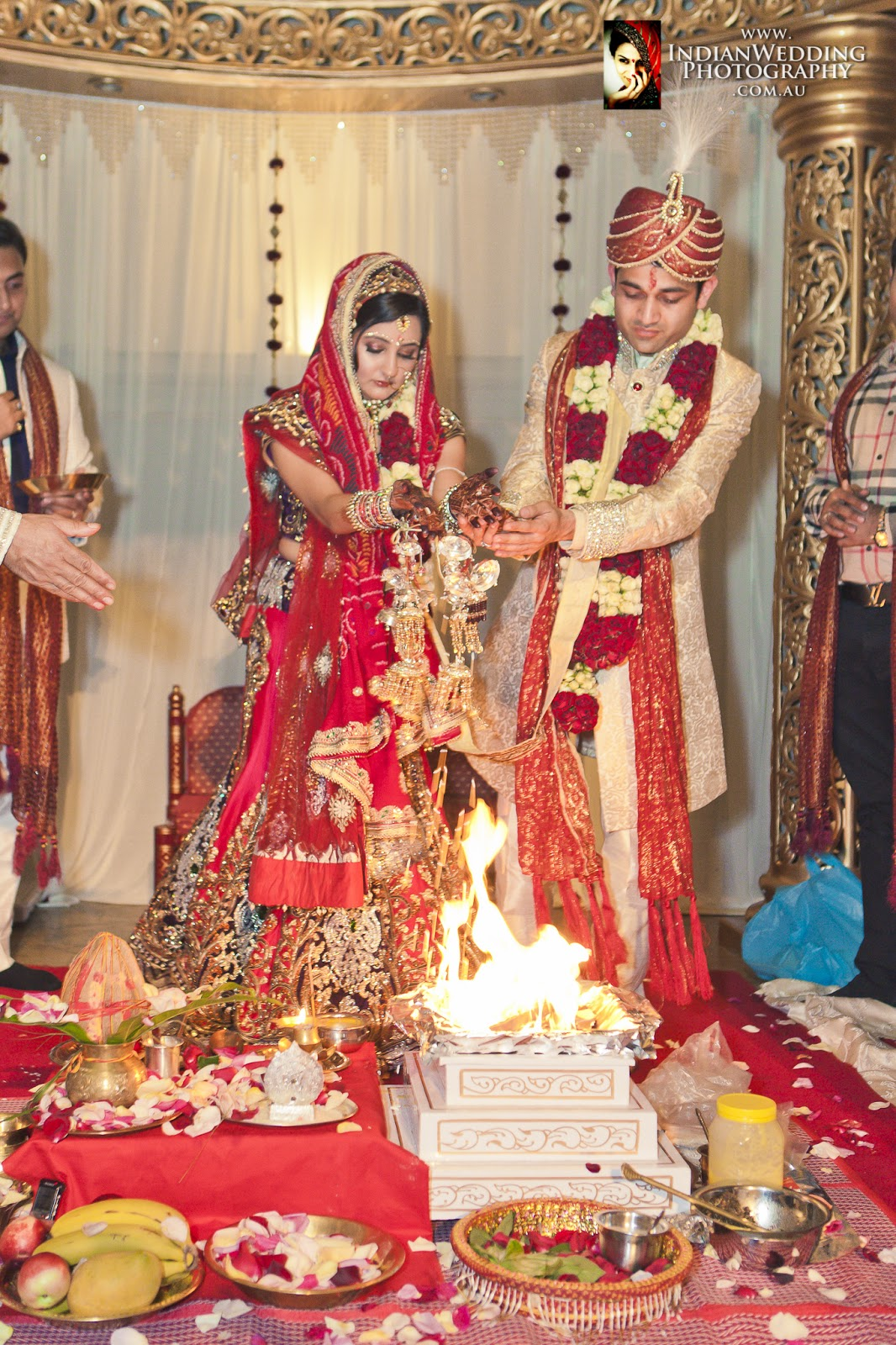 Indian Hindu Wedding At Curzon Hall Sydney