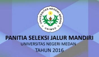 SELEKSI JALUR MANDIRI UNIMED 2016