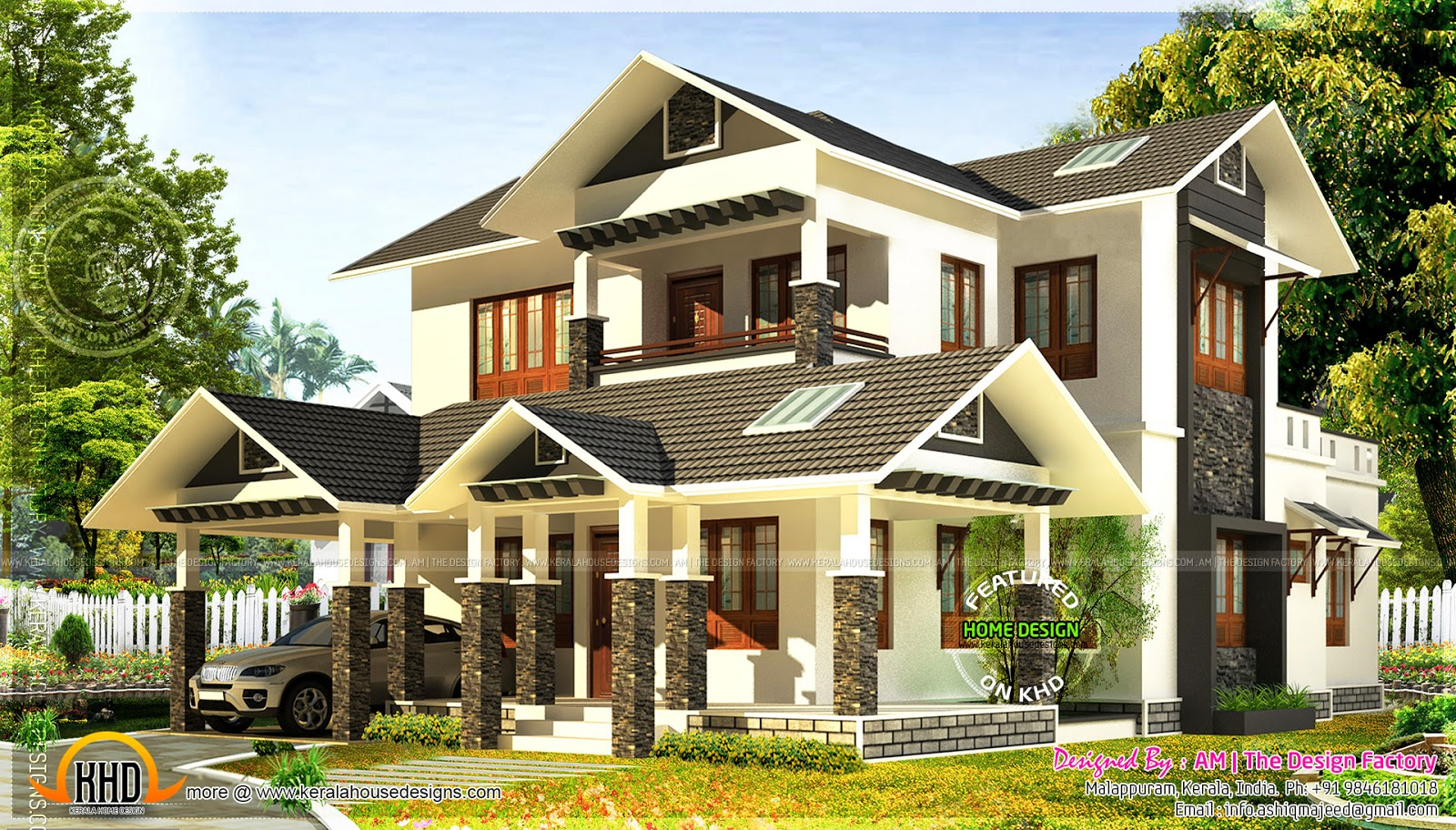 Bedroom House Roof Designs