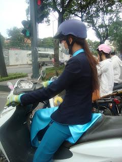 Transporte en Vietnam - Moto scooter