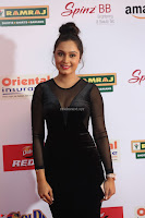 Vennela in Transparent Black Skin Tight Backless Stunning Dress at Mirchi Music Awards South 2017 ~  Exclusive Celebrities Galleries 021.JPG