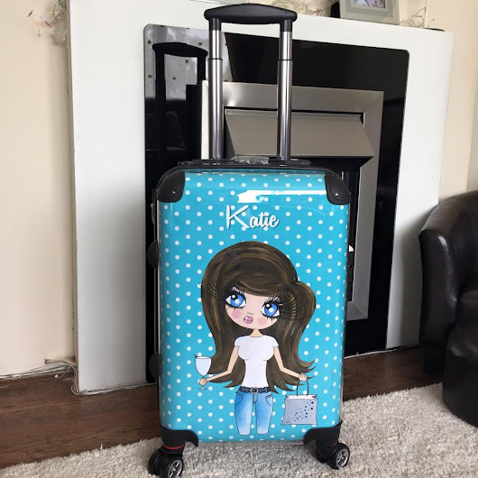 Toxicfox Review - Claireabella Personalised Suitcase