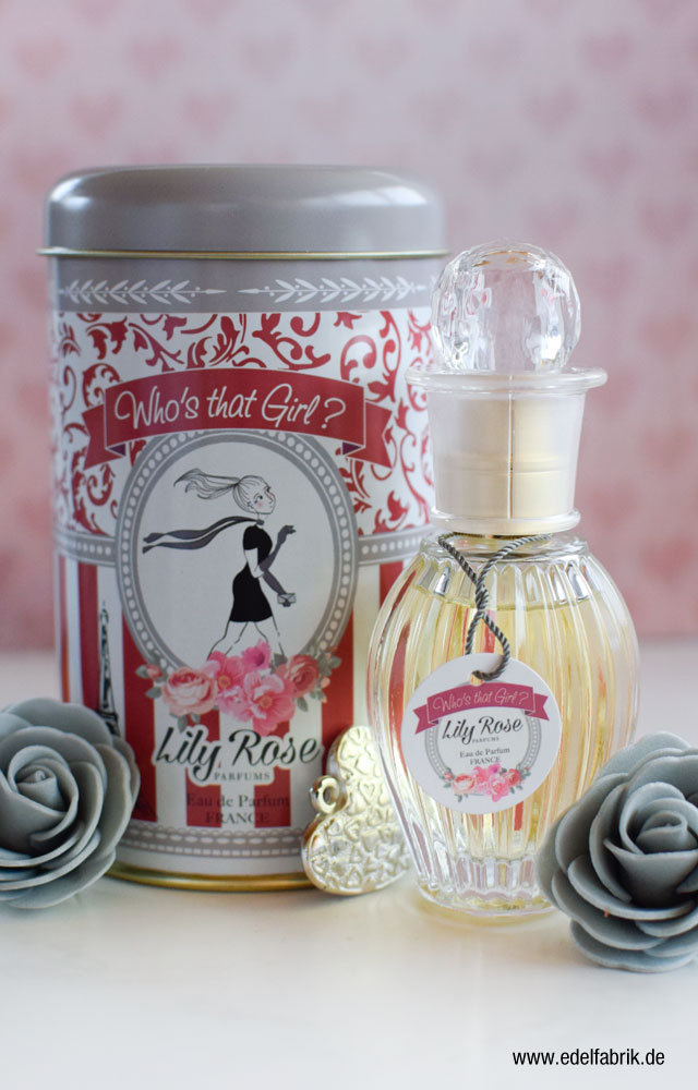 die Edelfabrik, Lily Rose, Vintage Düfte, Review, Who's that Girl?
