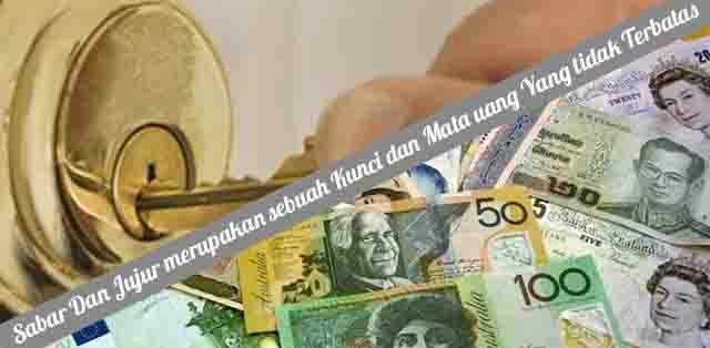 kunci dan mata uang