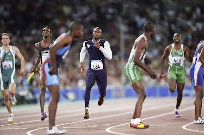 Team Nigeria's 4 x 400m relay team kicked out of the world championships!