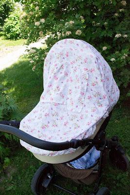накидка на коляску от солнца