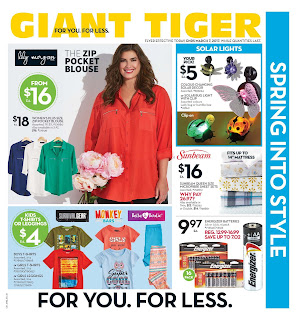 Giant Tiger Flyer March 1 – 7, 2017