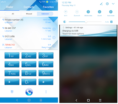 Download SKYBLUE V3 For EMUI 5 .0 Themes hwt Huawei