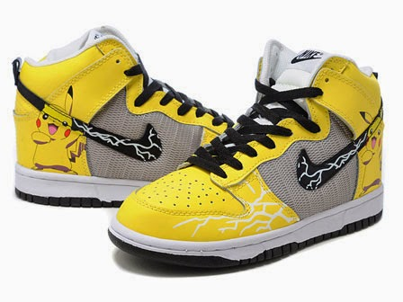 size 40 69916 5b794 High Tops Cartoon Nike SB Dunk High Premium Pikachu Sneakers