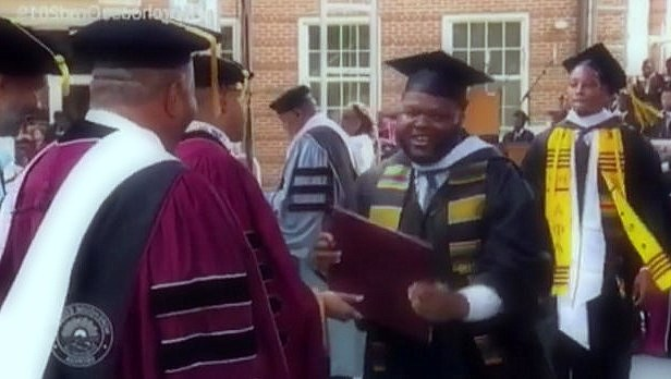 "The Morehouse graduate feels that ""a multi-millionaire student is motivated to change the world"""