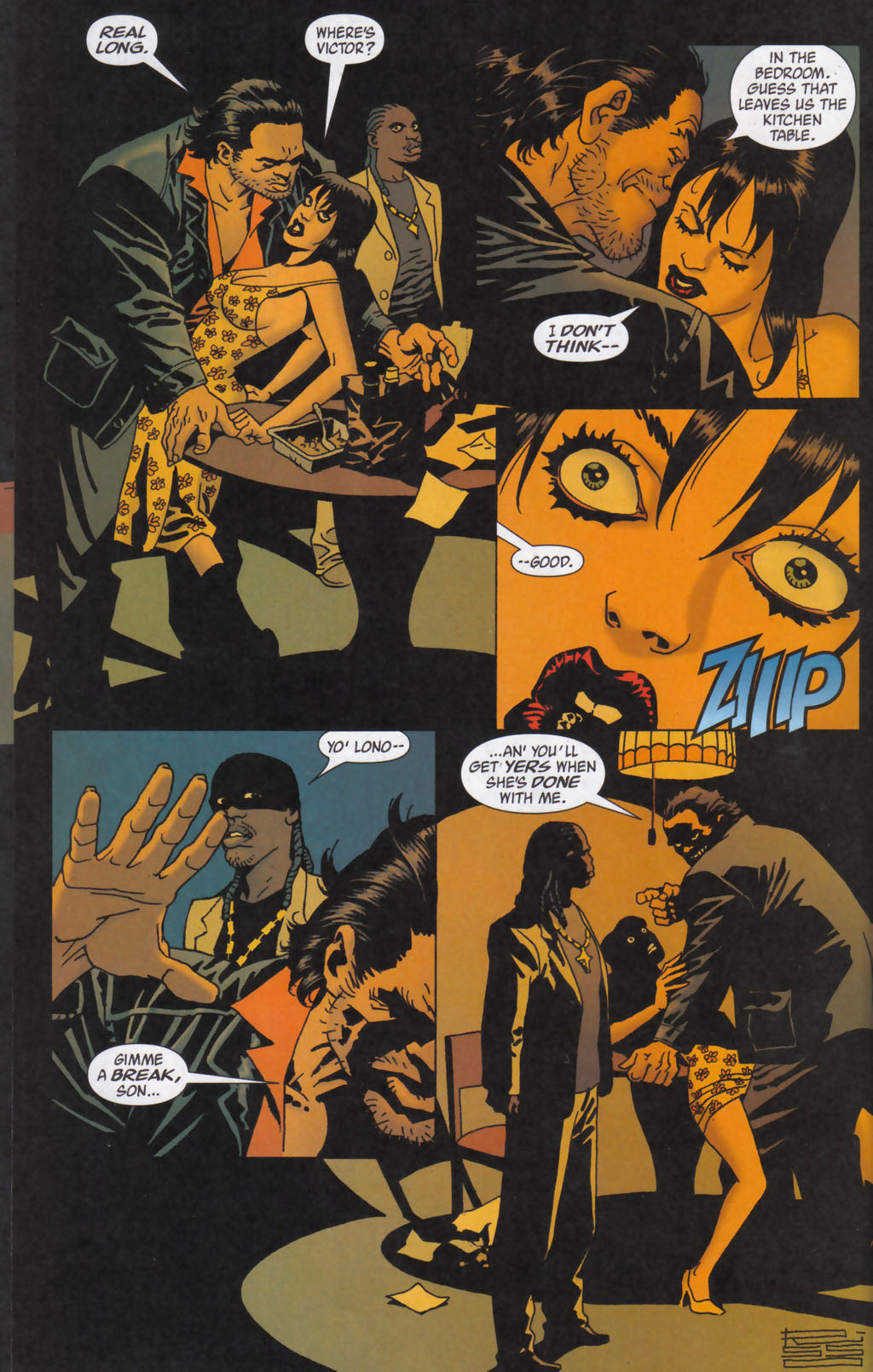 Read online 100 Bullets comic -  Issue #59 - 15