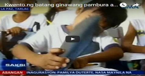 Anak Miskin Yang Gunakan Sandalnya Untuk Menghapus Ini Mendadak Menjadi Viral (Video)
