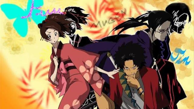 Samurai Champloo - Daftar Anime Martial Arts Terbaik dan Terpopuler