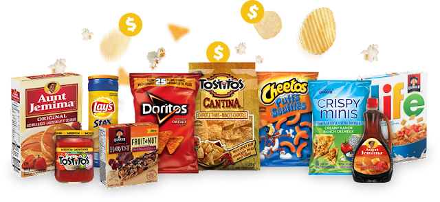Printable coupons from Pepsico