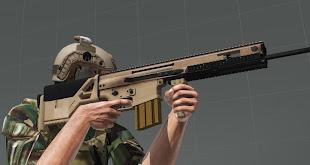 Arma 3 ericj weapons packアドオンのMk20 SSR