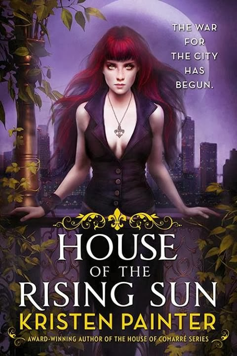 Cover Revealed - House of the Rising Sun by Kristen Painter