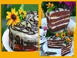 Tarta de Chocolate Blanco y Ciruelas