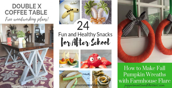 DIY, Snacks, Wreath features from home crafts by ali