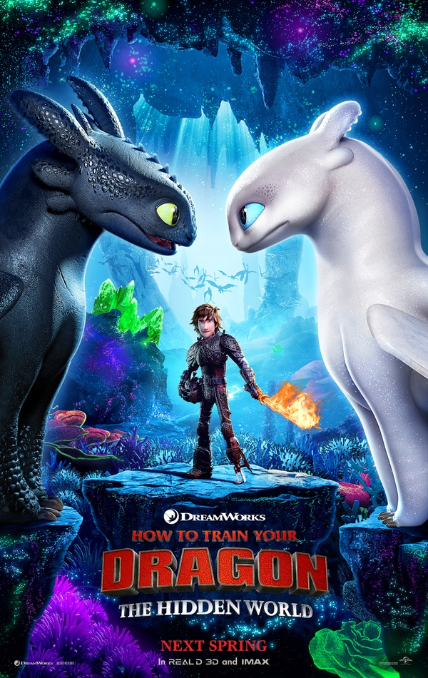 How to Train Your Dragon: The Hidden World 2019 Full Hindi-English Movie Download Dual Audio BRRip 720p