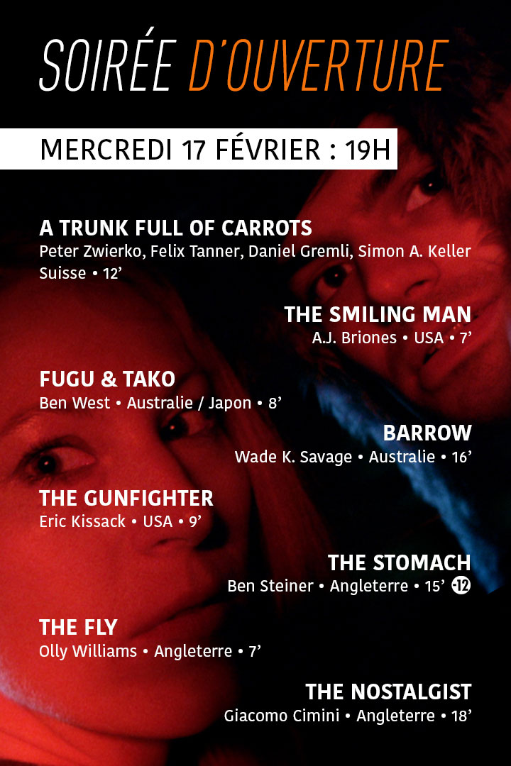 Festival MEME PAS PEUR 2016 - Soirée d'ouverture