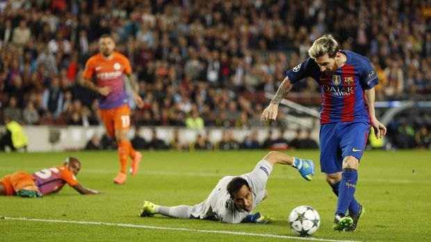 Berikut Rapor Leo Messi Melawan Klub Inggris Di Liga Champions 2019