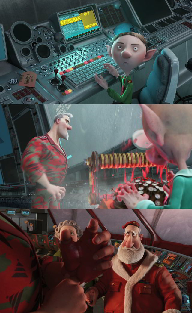 Arthur Christmas [Operación Regalo] (2011) HD 1080p y 720p Latino