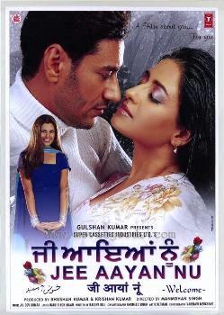 Poster Of Jee Aaya Nu (2011) In 300MB Compressed Size PC Movie Free Download At worldfree4u.com